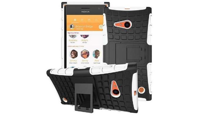 Capa com design de armadura protege o Lumia 730 contra quedas e arranhões (Foto: Divulgação/nave10)