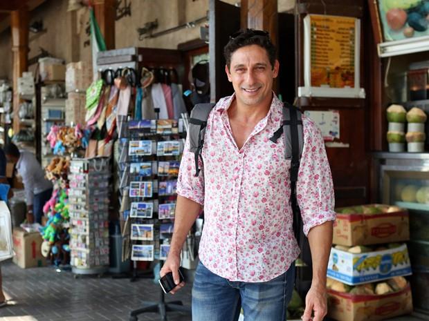 Tuca Andrada passei por Dubai (Foto: Isabella Pinheiro/Gshow)