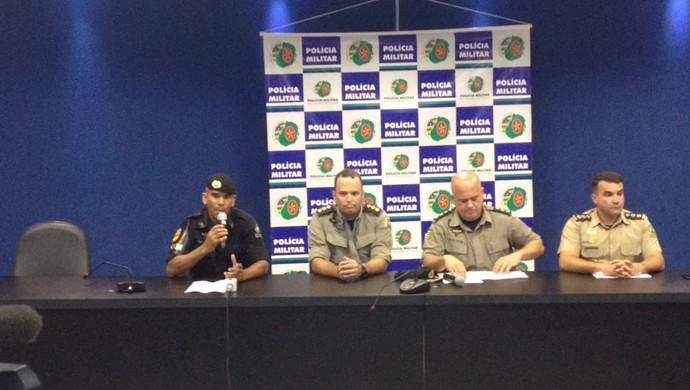 Policia de Goias (Foto: Guilherme Gonçalves)
