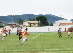 Atibaia x Santacrzense Série A3 (Foto: Fabio Giannelli / Soccer Digital)