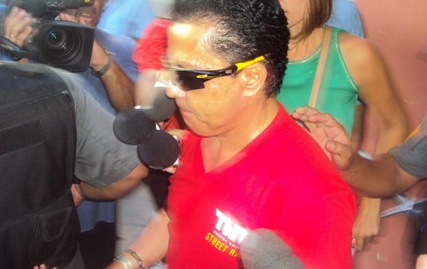 Motorista que atropelou torcedores no aterro - ferrari (Foto: Felipe Siqueira)
