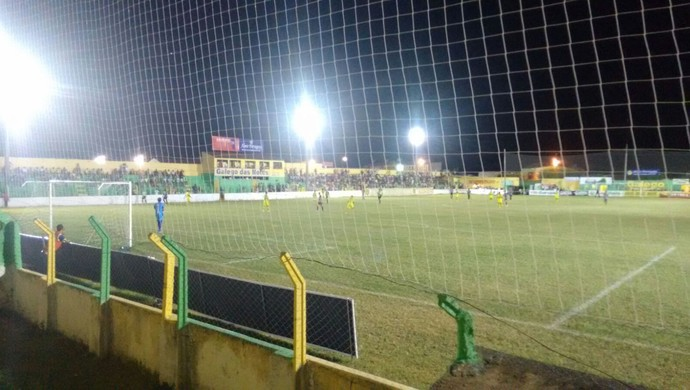 Estádio Arnon de Mello, em Santana do Ipanema (Foto: Romário Silva/Assessoria CSE)