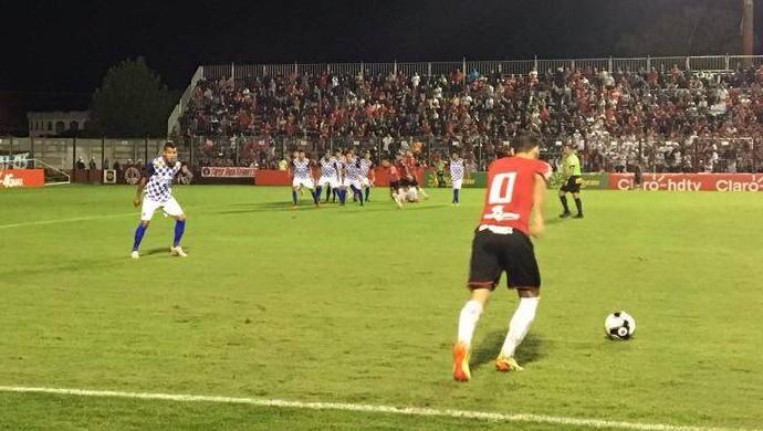 Brasil de Pelotas x São José-RS, Gauchão, Bento Freitas (Foto: Bruno Halpern / RBS TV)