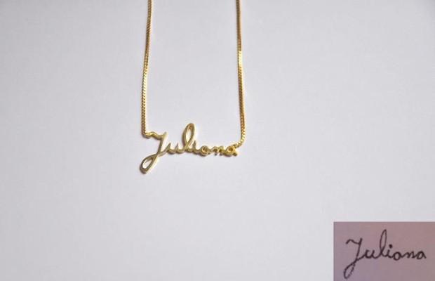 Lica vende entre 30 e 40 joias por mês (Foto: Divulgação)