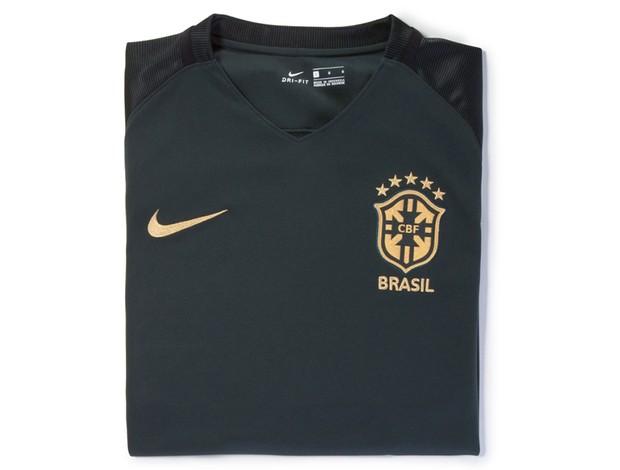 Nova terceira camisa da seleção brasileira