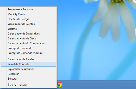 screenshot de Windows 8