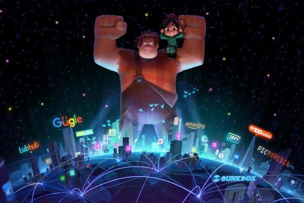Grandes aventuras esperam esta dupla em Detona Ralph 2: Ralph Quebra a Internet (Foto: Divulgação)
