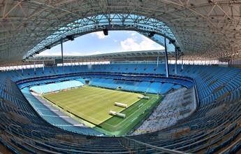 Em nota, construtora se diz pronta para vender gestão da Arena ao Grêmio