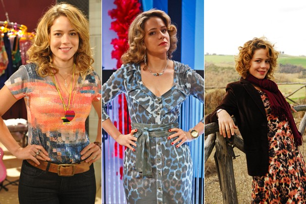 No ano passado, Leandra Leal, em Cheias de Charme e em As Brasileiras; em 2010, na novela Passione (Foto: Globo)