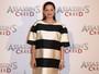 Marion Cotillard, grávida, usa vestido larguinho em pré-estreia