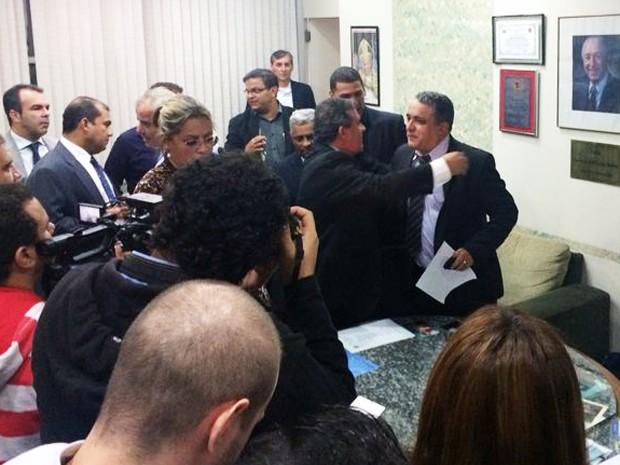 Vereador Wagner Moura é o novo prefeito de Cubatão, SP (Foto: Solange Freitas/G1)