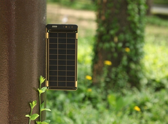 Solar Paper possui ímãs embutidos que permitem acoplá-lo à superfícies de metal (Foto: Divulgação/Kickstarter) (Foto: Solar Paper possui ímãs embutidos que permitem acoplá-lo à superfícies de metal (Foto: Divulgação/Kickstarter))