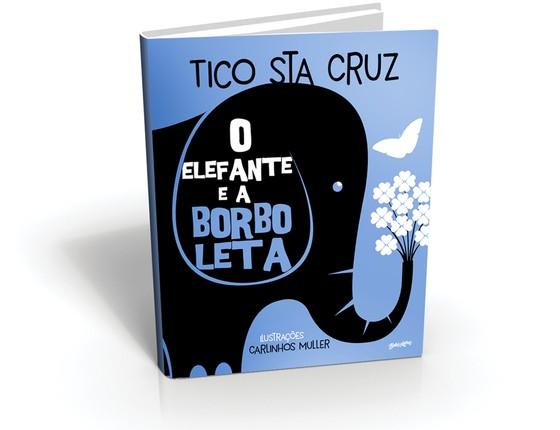 A capa de O elefante e a borboleta, que será lançado nesta quinta-feira (Foto: Divulgação)
