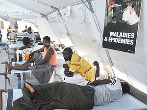 Cólera Haiti (Foto: Thony Belizaire/AFP)