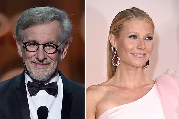 Steven Spielberg e Gwyneth Paltrow (Foto: Getty Images)