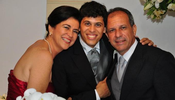 Rodrigo Tupi-MG mãe (Foto: Arquivo pessoal/Rodrigo Viana)