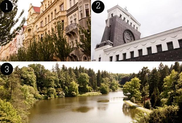 1. Vinohrady; 2. Vinohrady; 3. Parque Průhonice (Foto: Gabriel Prehn Britto/Gabriel quer viajar)