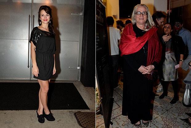 Bianca Bin e Vera Holtz (Foto: Fabio Cordeiro/Revista QUEM)