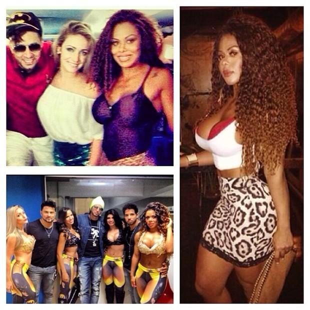 Latino e Ariany  (Foto: Reprodução/Instagram)