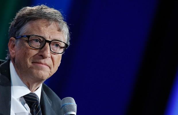 O empresário americano Bill Gates faz parte da Clinton Global Initiative (Foto: JP Yim/Getty Images)