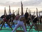 Escola de ioga promove aulas aos domingos  (Divulgação)