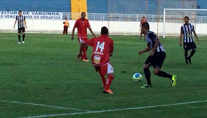 Boa Esporte vence o Tupi por 1 a 0 em Varginha (Foto: Manoela Borges / EPTV)