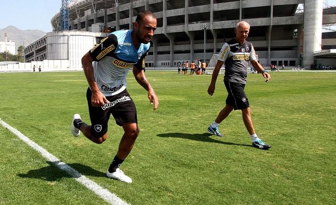 Bruno Correa Botafogo treino (Foto: Vitor Silva / SSPress)