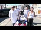 Moradores protestam no aniversário de São João da Barra, no RJ