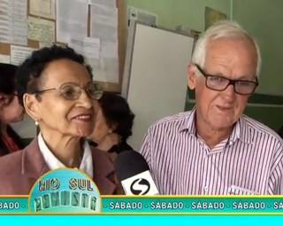 Confira no Revista de sábado um linda história de amor (Foto: Reprodução Rio Sul Revista)