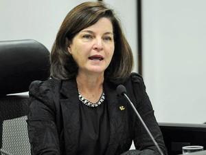Subprocuradora da República Raquel Dodge, durante debate com candidatos à PGR (Foto: Antonio Cruz/Agência Brasil)