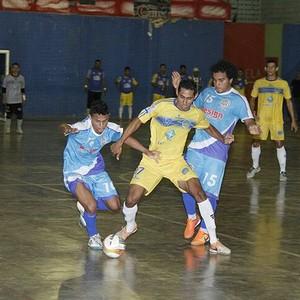 Futsal Roraima, Airton/Casarão e Constelação (Foto: Reynesson Damasceno/FRFS)