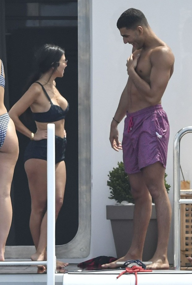 Kourtney Kardashian e Younes Bendjima (Foto: Reprodução)