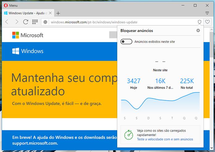 Microsoft identifica até bloqueadores de anúncios como prováveis culpados pelo erro 403 no Windows Update (Foto: Reprodução/Filipe Garrett)