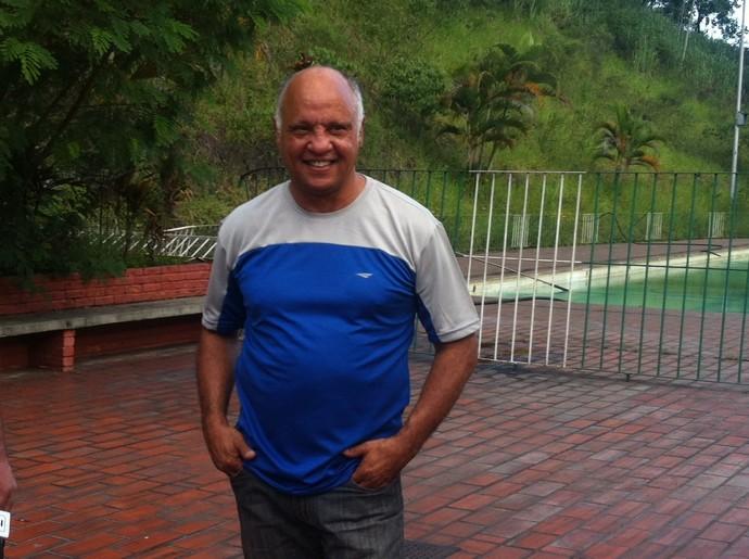 Reinaldo Lima afirma está animado para comandar o retorno do Tigre para a cidade de Ipatinga. (Foto: Patrícia Belo / Globoesporte.com)