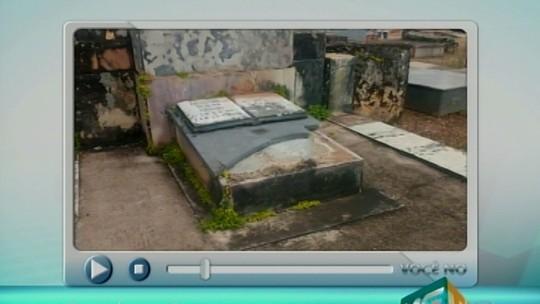 Cemitério é alvo de vândalos em Desemboque, distrito de Sacramento