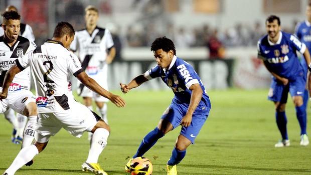 Romarinho jogo Corinthians e Ponte Preta (Foto: Marcos Ribolli / Globoesporte.com)