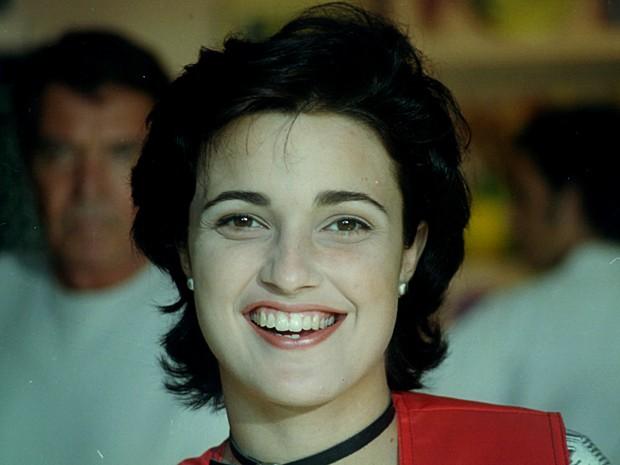 Daniela Pessoa era Magali, uma garota irreverente, mas responsável (Foto: Cedoc / TV Globo)