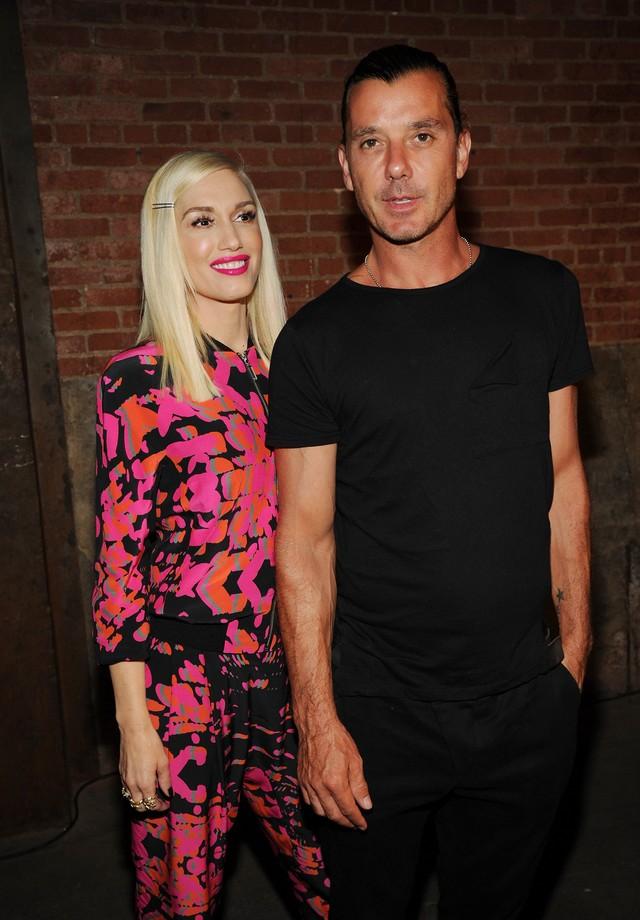 Gwen Stefani e Gavin Rossdale em 2014 (Foto: Getty Images)
