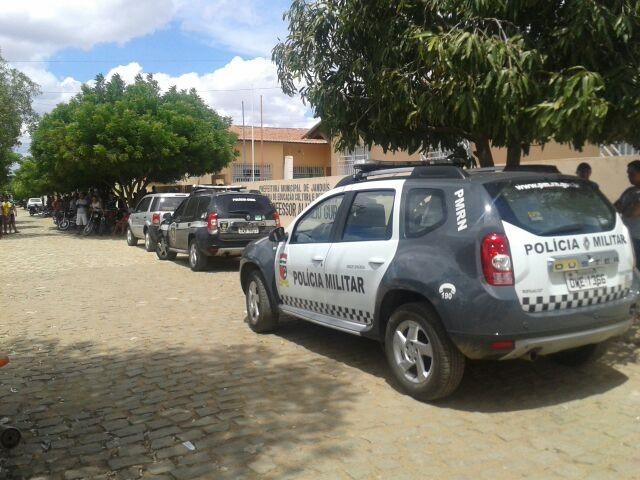Operação cumpriu 12 mandados de busca e apreensão em Janduís, Almino Afonso e Frutuoso Gomes (Foto: Divulgação/Polícia Militar)