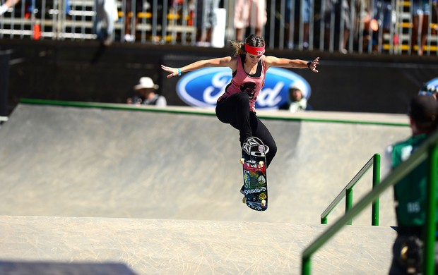 Leticia Bufoni skate X Games (Foto: Joe Faraoni / ESPN Images)