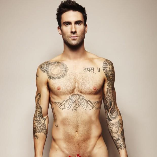 Adam Levine (Foto: Revista Cosmopolitan)