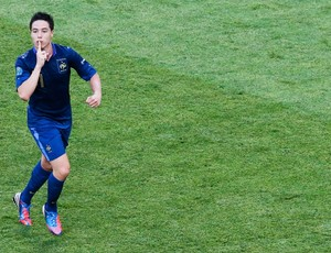 nasri frança gol inglaterra eurocopa (Foto: Agência Reuters)