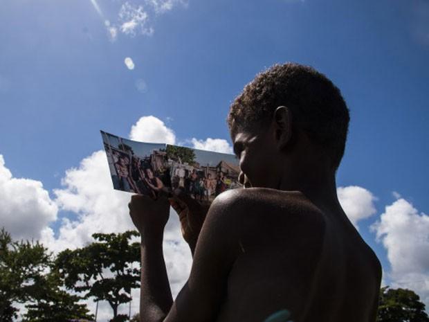 'Olhares da Rua: Do Estigma à Estima' projeta realidade através da visão de crianças (Foto: Juana Carvalho / Divulgação)