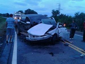 Acidente aconteceu no fim da tarde desta sexta-feira (10) (Foto: Essen Pinheiro de Melo)