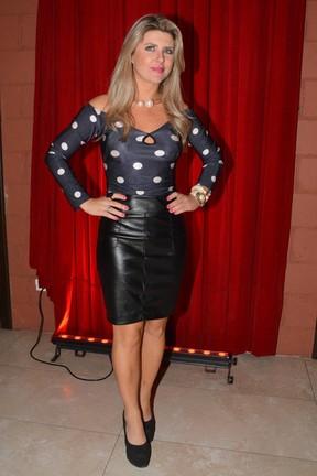 Iris Stefanelli em show em São Paulo (Foto: Caio Duran/ Ag. News)