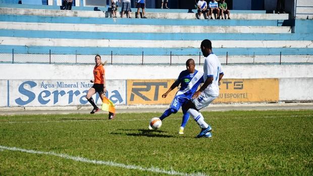 Taubaté Santo André Reginaldo (Foto: Bruno Castilho)