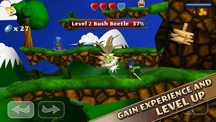 Enfrente inimigos e explore grande cenários neste jogo de plataforma (Foto: Divulgação)
