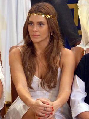 Carol Dieckman participa do programa 'Esquenta' (Foto: TV Globo - Esquenta)
