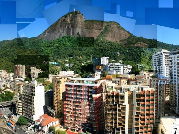 Em 'Corcovado e Cidade', o colorido se destaca (Foto: Marcello Cavalcanti / Divulgação)