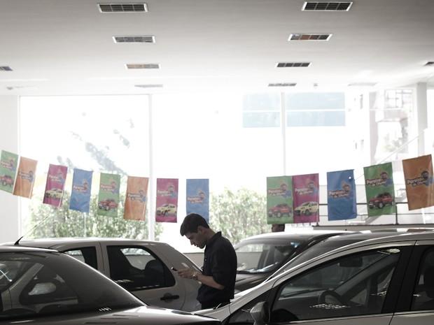 Vendas de carros usados caem 1% em 2015 (Foto: Caio Kenji/G1)